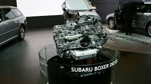 subaru boxer engine subaru boxer diesel revealed in geneva