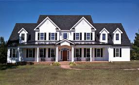 farmhouse house plans with porches 3 story 5 bedroom home plan with porches southern house plan