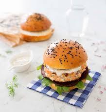 cuisine sauvage recettes burgers de saumon sauvage à l aneth les meilleures recettes de