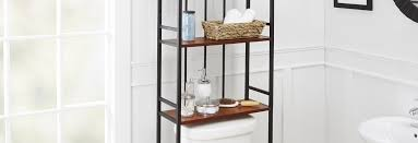 Glass Shelving For Bathrooms Bathroom Organization Shelving For Less Overstock
