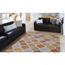 home dynamix tremont collection hd5012 731 beige orange modern