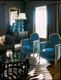 Taupe Zebra Rug Design Indugences House Beautiful Blue Foo Dogs Interior Design