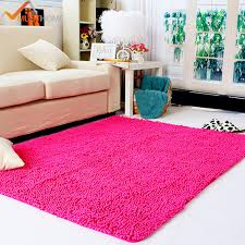 Soft Area Rugs 100x120cm 39 X47 Chenille Microfiber Floor Rugs For Living Room