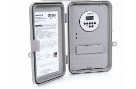Westek Digital Residential Hardwired Timer by Intermatic 40 Amp Digital Outlet Residential Outdoor Hardwired