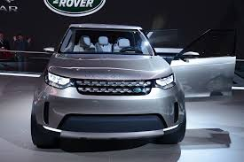 new land rover discovery 2015 land rover discovery vision concept offroading in new york live