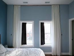 Hanging Curtain Rods From Ceiling Ideas Fantastic Curtains Hanging From Ceiling Designs With Best 20
