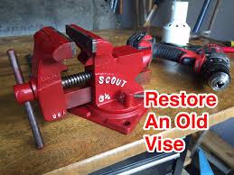 012 easy restoration of a vintage vise youtube