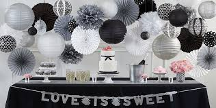and white wedding black and white wedding party supplies party city