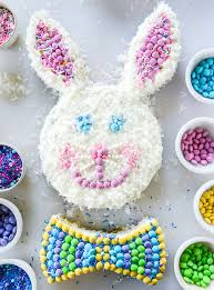 easter bunny cake ideas confetti coconut bunny cake
