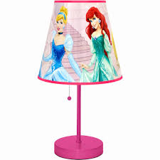 kids table lamps unique disney princess table lamp pink walmart