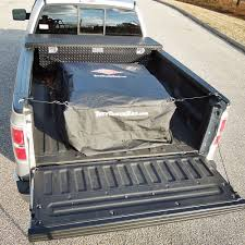 bed of truck tuff truck cargo bag for pickup bed waterproof luggage storage
