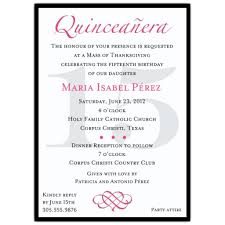 spanish thanksgiving quinceanera invitations wording in spanish dancemomsinfo com