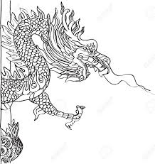 tribal chinese dragon tattoos 729 dragon statue stock illustrations cliparts and royalty free