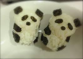 making panda onigiri youtube