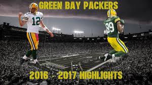 green bay packers 2016 2017 highlights