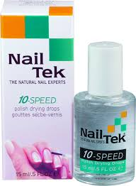 amazon com nailtek for all nail types 10 speed drying drops 0 5