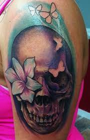 50 cool skull tattoos designs girly skull tattoos girly and