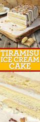 tiramisu ice cream cake with video