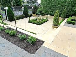 Front Yard Landscaping Without Grass - exellent front garden ideas no grass without y in decor beautiful