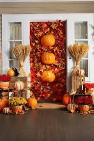 halloween door garland 40 easy diy halloween decoration ideas homemade halloween decor
