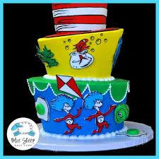 dr seuss birthday cakes dr seuss birthday cake blue sheep bake shop