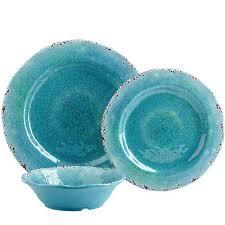 turquoise carmelo melamine dinnerware everything turquoise