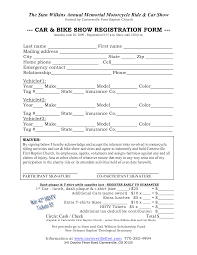 seminar registration form legal forms and business templates