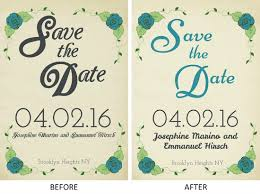 save the date designs designer tutorial save the date cards befunky