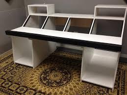 diy recording studio desk recording desk build desks studio and studio desk