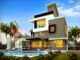 Home Design 3d by 3d Modern Exterior House Designs Design A House Interior