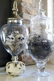 Bathroom Apothecary Jar Ideas 20 Ways To Decorate For Halloween The House Of Silver Lining