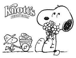 64 snoopy coloring pages images peanuts snoopy