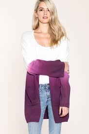 casual cardigan in ombre for women gozon u2013 gozon boutique