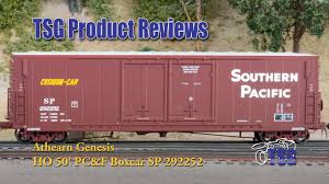 box car train ho scale box car athearn genesis product review youtube