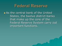 federal reserve chapter 16 section 2 federal reserve functions
