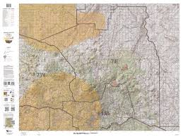 Arizona Topographic Map by Untitled Document
