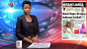 Radio Tbc Taifa Tanzania Dar Es Salaam Semboja Mohamed Jumanne Jumatano Machi 8 2017 Udunduzi Wa
