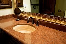 Granite Countertops For Bathroom Vanities Granite Bathroom Counter Tops Granite Installer Phoenix