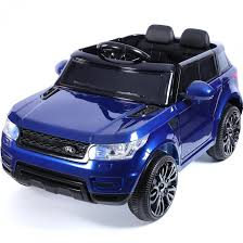 matte blue range rover mini hse range rover style 12v child u0027s ride on jeep blue