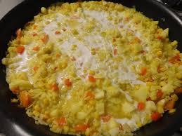 cuisiner avec du lait de coco riz poêlé version sucrée et salée au lait de coco fourchettes et