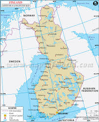 World Map Sweden by Latitude And Longitude Map