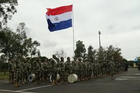 Paraguayan Flag Fuerzas Comando 2017 Special Forces Competition Begins In Paraguay