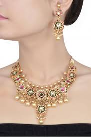 208 best kempu jewellery images on antique jewellery