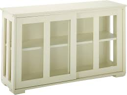 antique white kitchen storage cabinet tms pacific stackable storage with wood door antique white