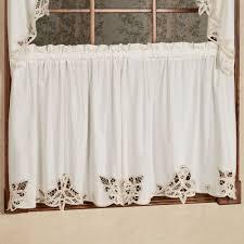 Cheap Lace Curtains Sale Decoration Plain Kitchen Curtains Polyester Lace Curtains