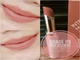 Wardah Matte Lipstick wardah matte lipstick 05 easy brownie best buy of best price