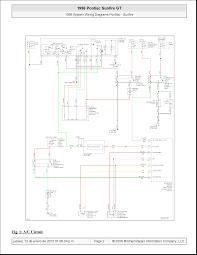 pontiac sunfire 1996 system wiring diagrams documents