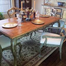 Pulaski Dining Room Furniture Best Pulaski Hand Painted Dining Or Kitchen Table And Matching