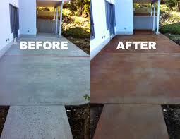 diy simple diy concrete stain patio good home design fantastical