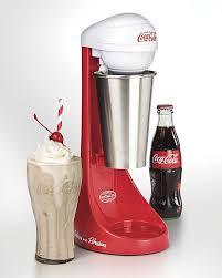 amazon com nostalgia mlks100coke coca cola two speed milkshake